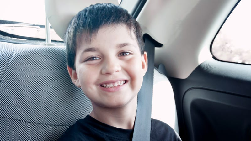 Illustration for article titled Jumping The Gun: This Kid On A Road Trip Just Started Pissing Into A Bottle Without Even Asking His Parents To Find Him A Bathroom Or Anything
