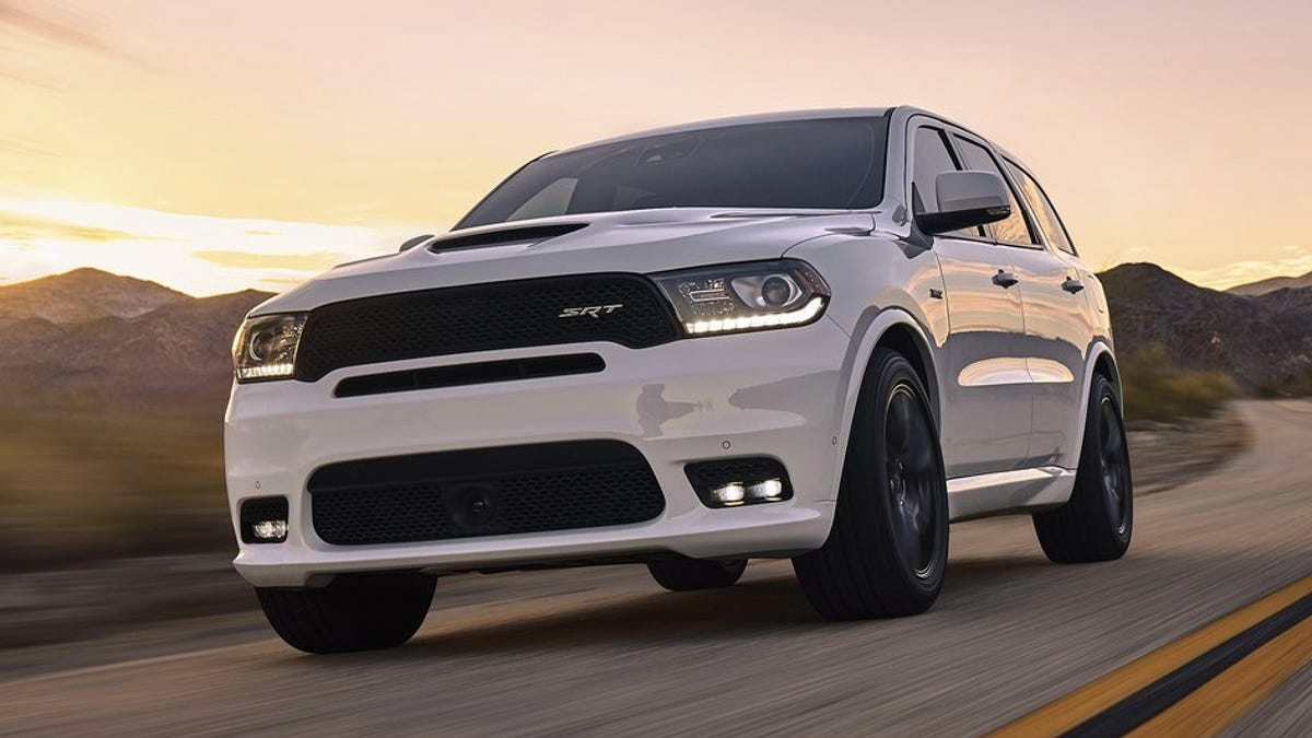 The 2018 Dodge Durango SRT Is A Cry For Help