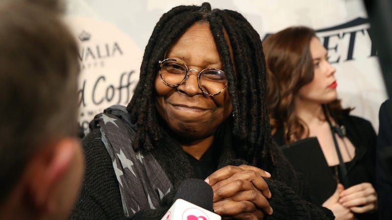 Illustration for article titled Of Course Whoopi Goldberg Is Defending Kelly Osbourne's Racist Remarks