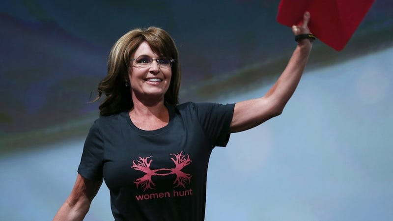 Illustration for article titled Perfect: Sarah Palin Is Getting a Show on the Sportsman Channel