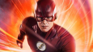 The Flash, without a chin strap!