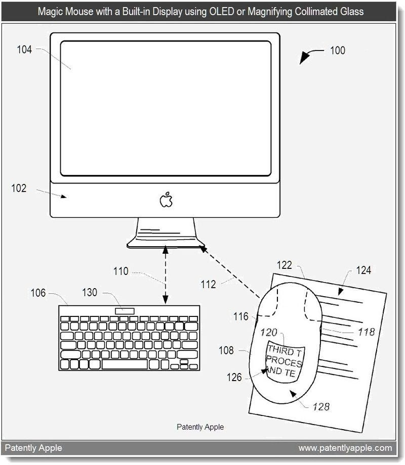 Illustration for article titled Your Next Magic Mouse Could Have a Built-In Display