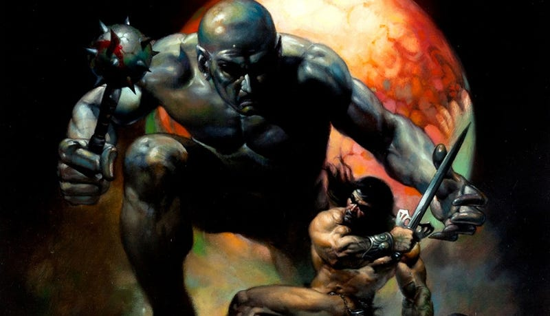 Illustration for article titled Glory And Thunder! You Could Own These Original Boris Vallejo Paintings