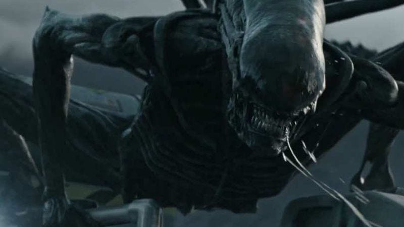 A shot from Alien: Covenant, or metaphor for man's fall into sin? THE CHOICE IS YOURS.
