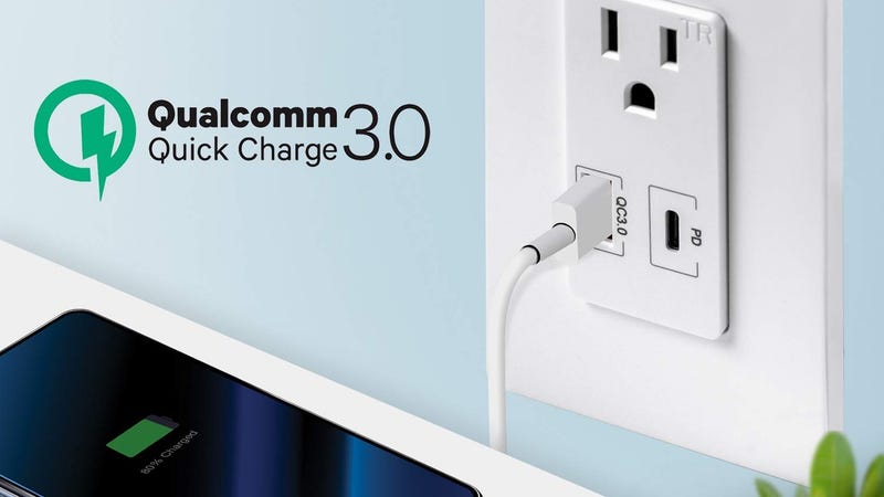 TopGreener Quick Charge 3.0/USB-C PD Wall Receptacle   $27   Amazon   Promo code 20TGAPR19
