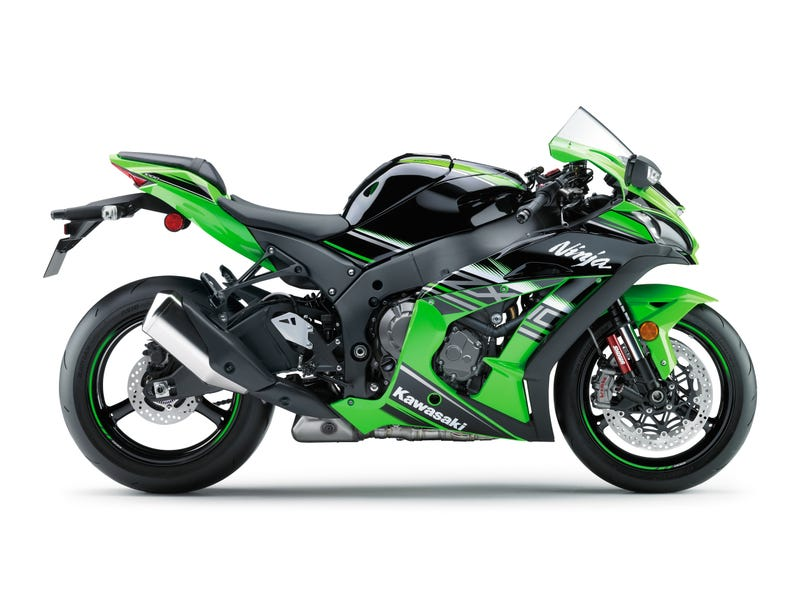 the all-new 2016 kawasaki zx-10r might be the fastest street-legal