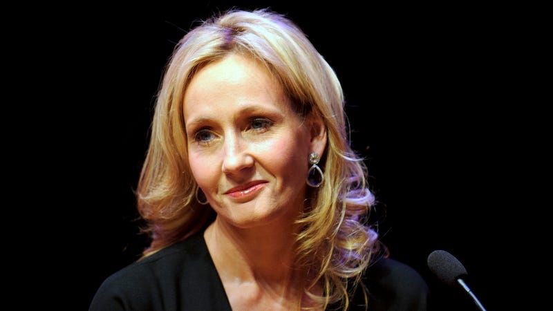 Illustration for article titled The Chair J.K. Rowling Wrote Harry Potter from Has Been Auctioned for Almost $400K