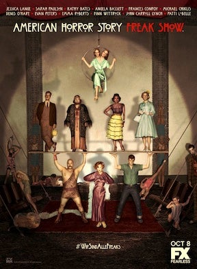 Illustration for article titled I Have Problems With 'AHS: Freakshow' and It's Bugging the HELL Out of Me