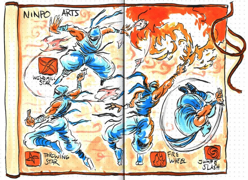 Illustration for article titled Hand-Drawn Strategy Guides Are Works Of Art