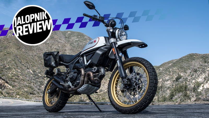 The Ducati Scrambler Desert Sled Is Fun To Ride But It S Best At