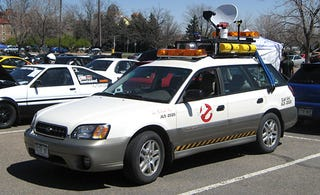 Illustration for article titled The Lighter Side Of Subarus: The Outback Ecto-1