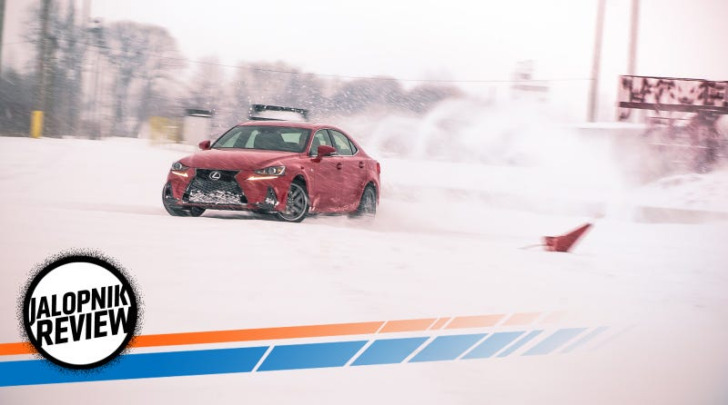 The 2017 Lexus IS 200T Is Way Better Than Just A '3 Series Fighter'