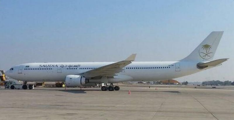 Illustration for article titled Why Exactly Is A Saudi Arabian Airliner At Tel Aviv Ben Gurion Airport?