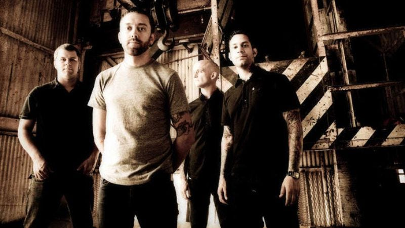 Illustration for article titled Rise Against's Tim McIlrath is 27 and not ready to die