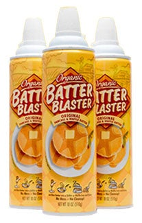 Illustration for article titled Batter Blaster Spews Canned Pancakes Like They're Easy Cheese