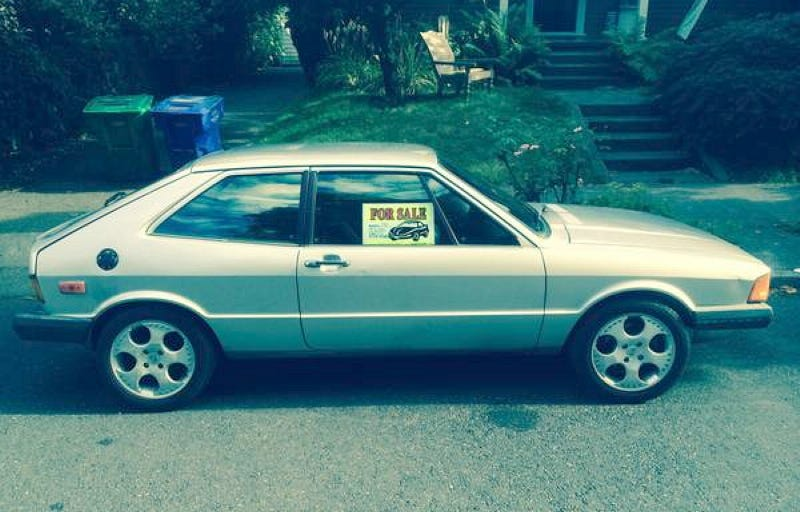 Would You Go 5900 For A Diesel 1980 VW Scirocco