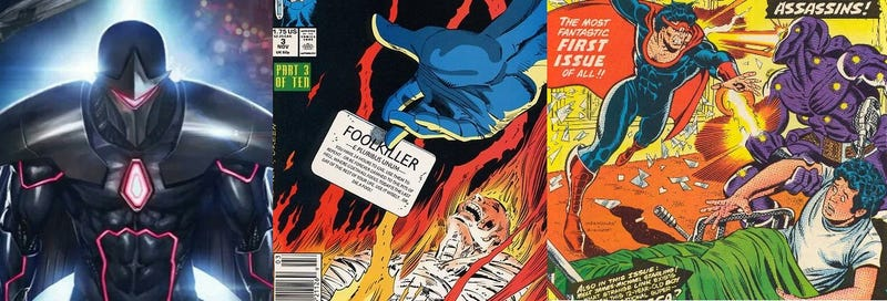 Illustration for article titled Hypothetical TV: Darkhawk, Foolkiller, and Omega the Unknown