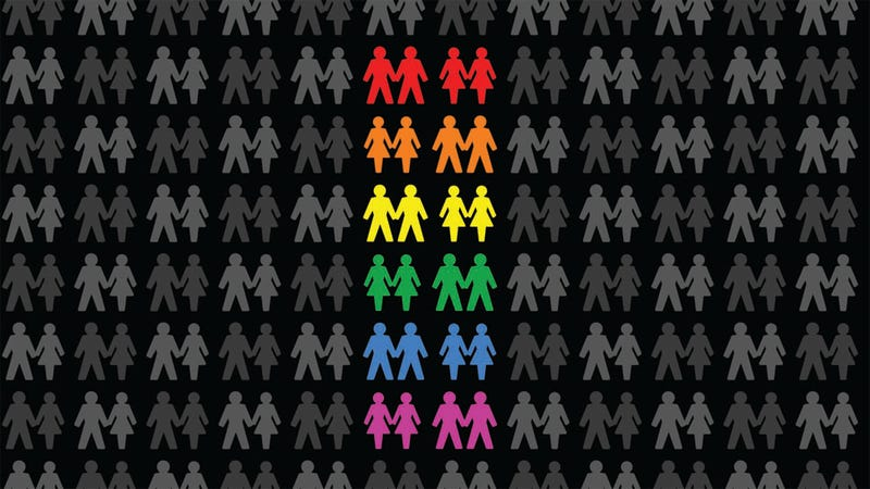 """Illustration for article titled More Than Words: 11 """"Queer"""" Questions From 70 Years Of Gallup Polls"""