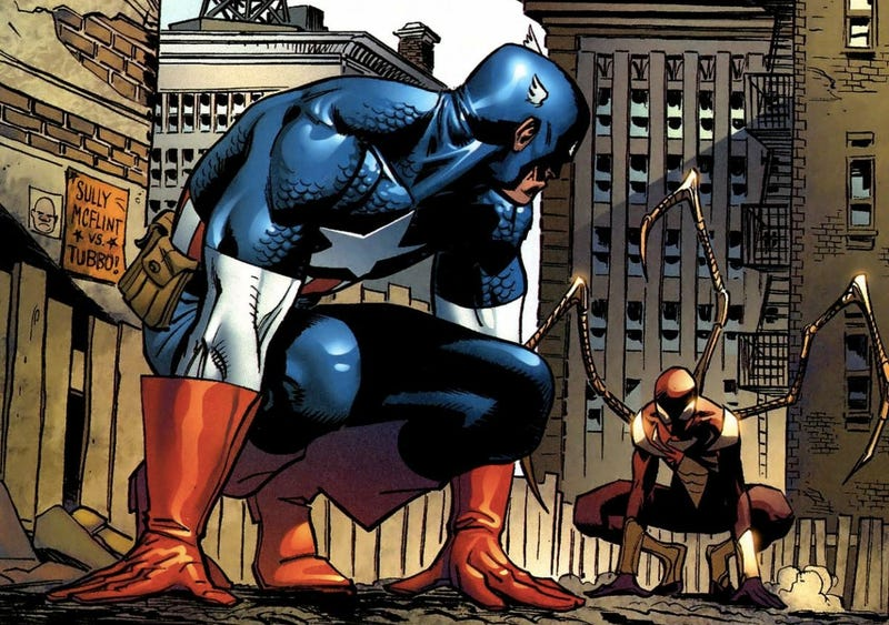 Illustration for article titled Marvel Wanted Spider-Man For Captain America 3, But Sony Said No