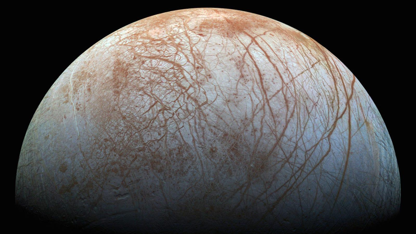 Contempla Europa, la luna de Júpiter, en la imagen de mayor resolución