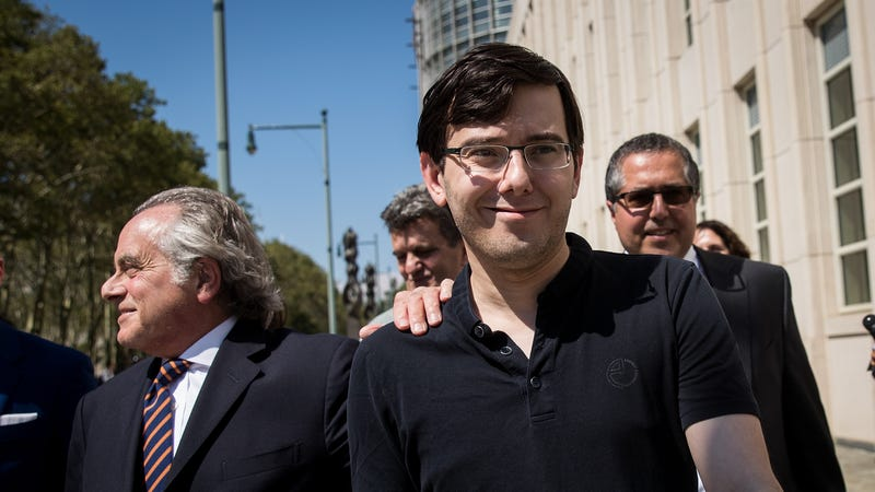 Shkreli sent to jail by judge over Clinton hair bounty