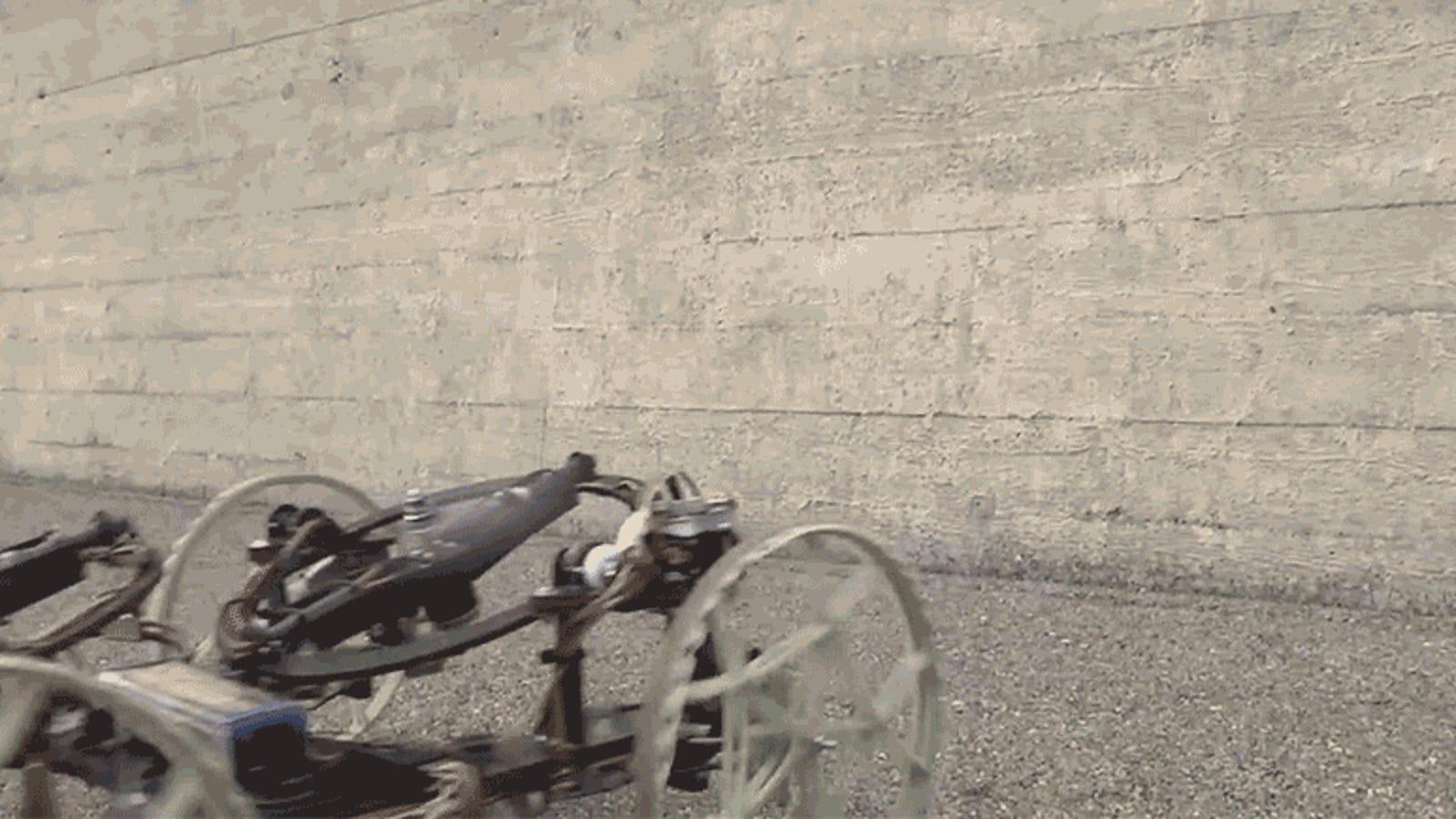 Disney's New Rolling Robot Climbs Walls Like a Gecko