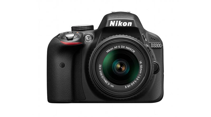 Illustration for article titled As Nikon's Entry-Level DSLR Gets a Bump, Its 18-55mm Kit Lens Shrinks