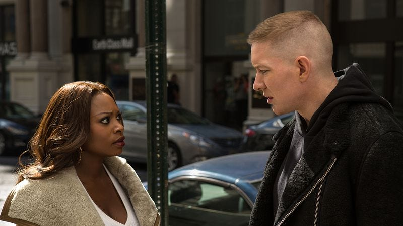 Naturi Naughton and Joseph Sikora (Photo: Starz)