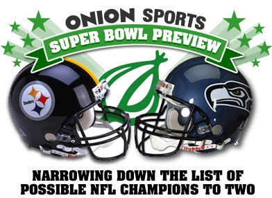 Illustration for article titled Onion Sports Super Bowl Preview