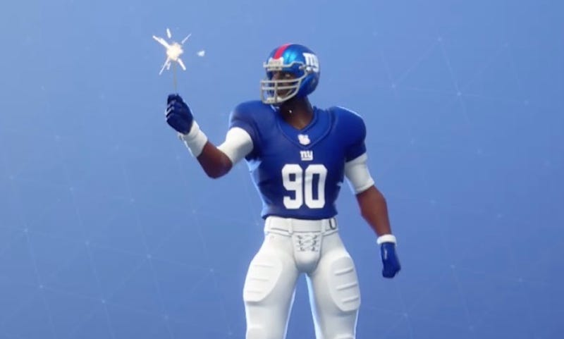 Illustration for article titled Fortnite Players Immediately Find Worst Possible Uses For New NFL Skins