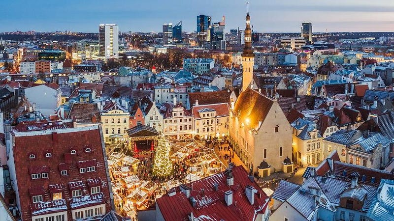 Estonia's capital, Tallinn.