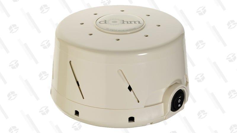 Marpac Dohm Classic White Noise Sound Machine   $40   Amazon