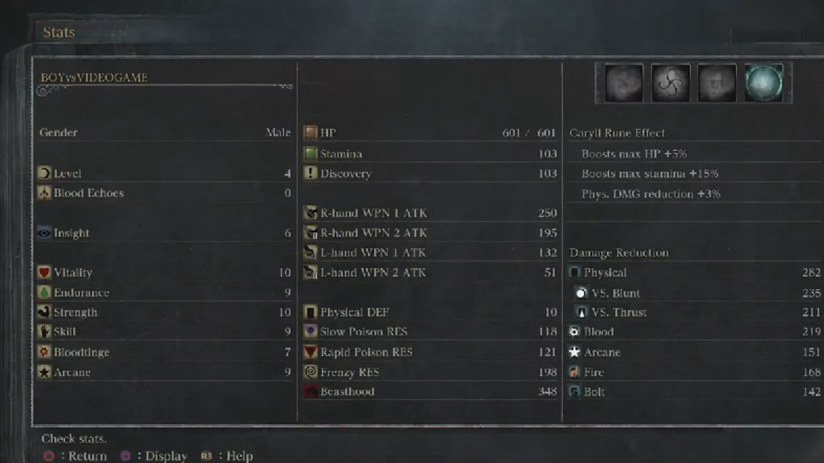 Incredible Bloodborne Player Beats Game Without Ever Leveling Up