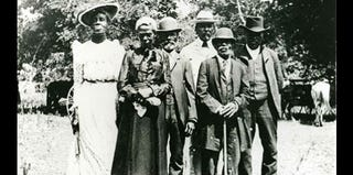 Official Juneteenth Committee, Austin, Texas, June 19, 1900 (courtesy of Austin History Center, Austin Public Library)