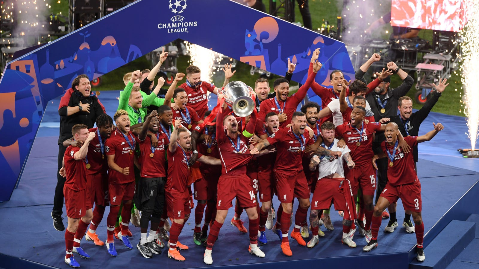 Wallpaper Victory Day Russia Holidays Hd Celebrations: Liverpool Deservedly Win A Rather Dull Champions League Final