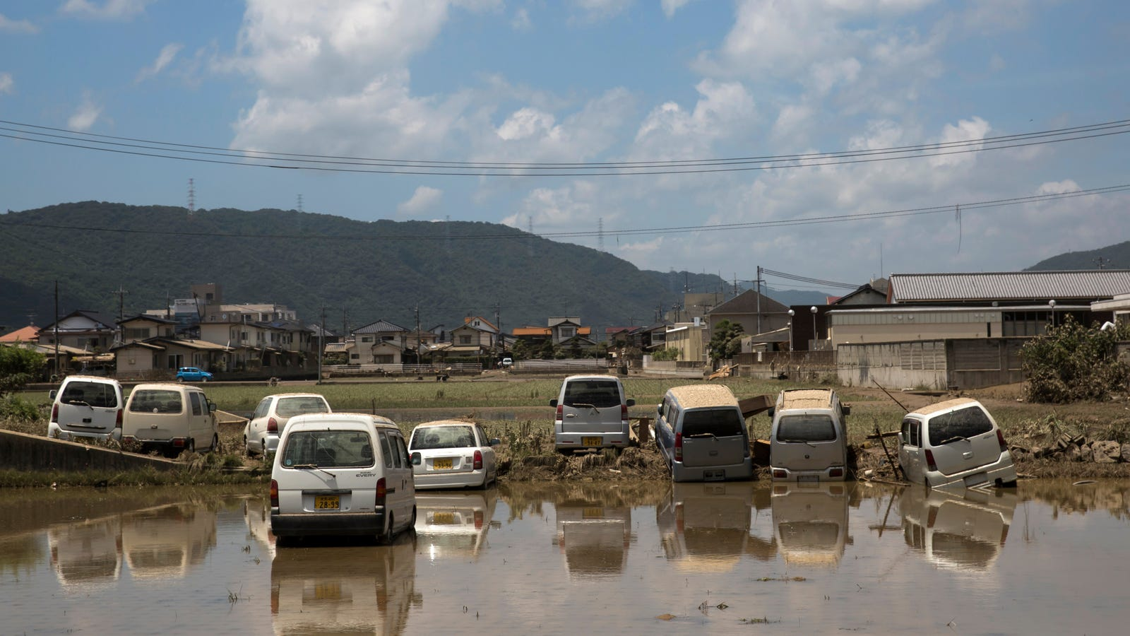 More Than a Million Ordered to Evacuate as Southern Japan Braces for a Month of Rain in a Single Day