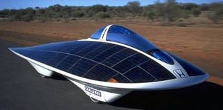 Illustration for article titled Toyota Developing Solar-Powered Car?