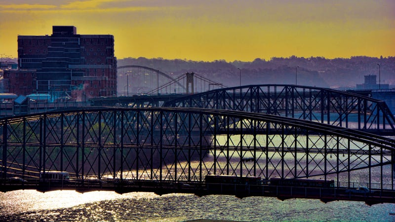 """Obviously """"Which city has the prettiest bridges?"""" was one of the key questions in narrowing down the list. Photo of Pittsburgh by Mariano Mantel."""
