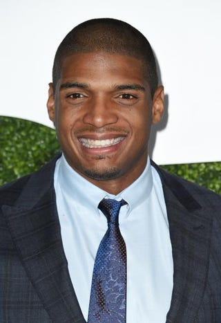 Michael Sam in 2014ROBYN BECK/AFP/Getty Images