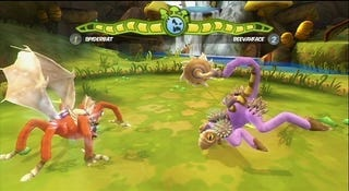 Illustration for article titled How About A Spore Fighting Game?