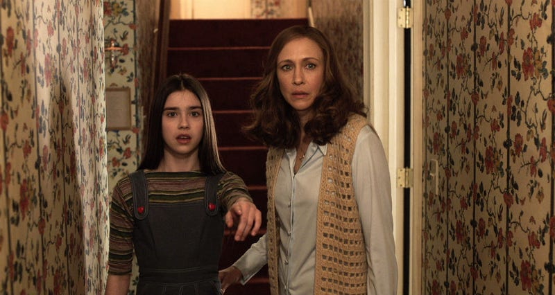 A scene from The Conjuring 2. Image: Warner Bros.