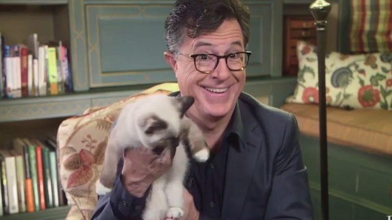 (Screenshot: The Late Show/YouTube)