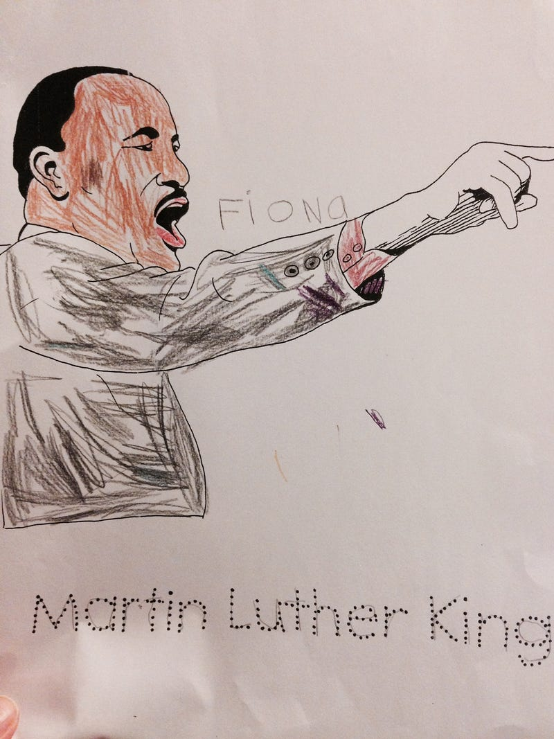 Illustration for article titled Little known fact about Martin Luther King, Jr.