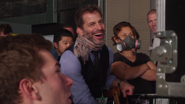 Zack Snyder Owns Up to Provoking His Fans for Clicks and Charity