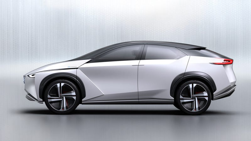 Illustration for article titled The Nissan IMx Concept Is An Autonomous Electric Crossover Because You Don't Always Wake Up To Good News, Okay?