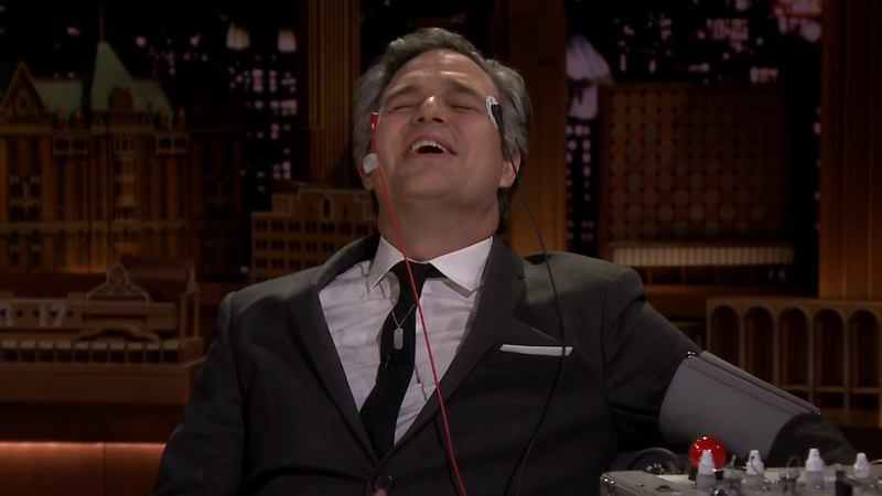 Jimmy Fallon Gives Mark Ruffalo an Avengers-Related Lie Detector Test