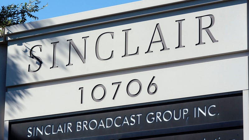 "Illustration for article titled Sinclair says it has no ""political agenda"" despite viral right-wing propaganda clips"