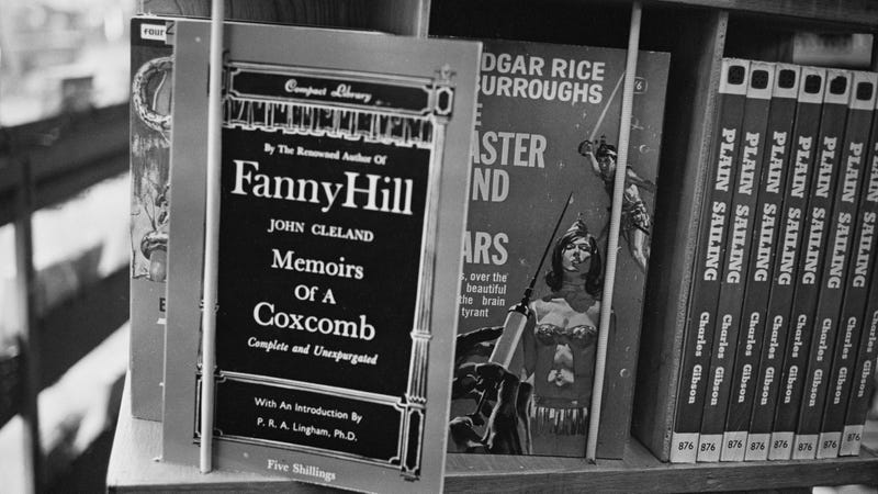 "Cover of ""Fanny Hill."""