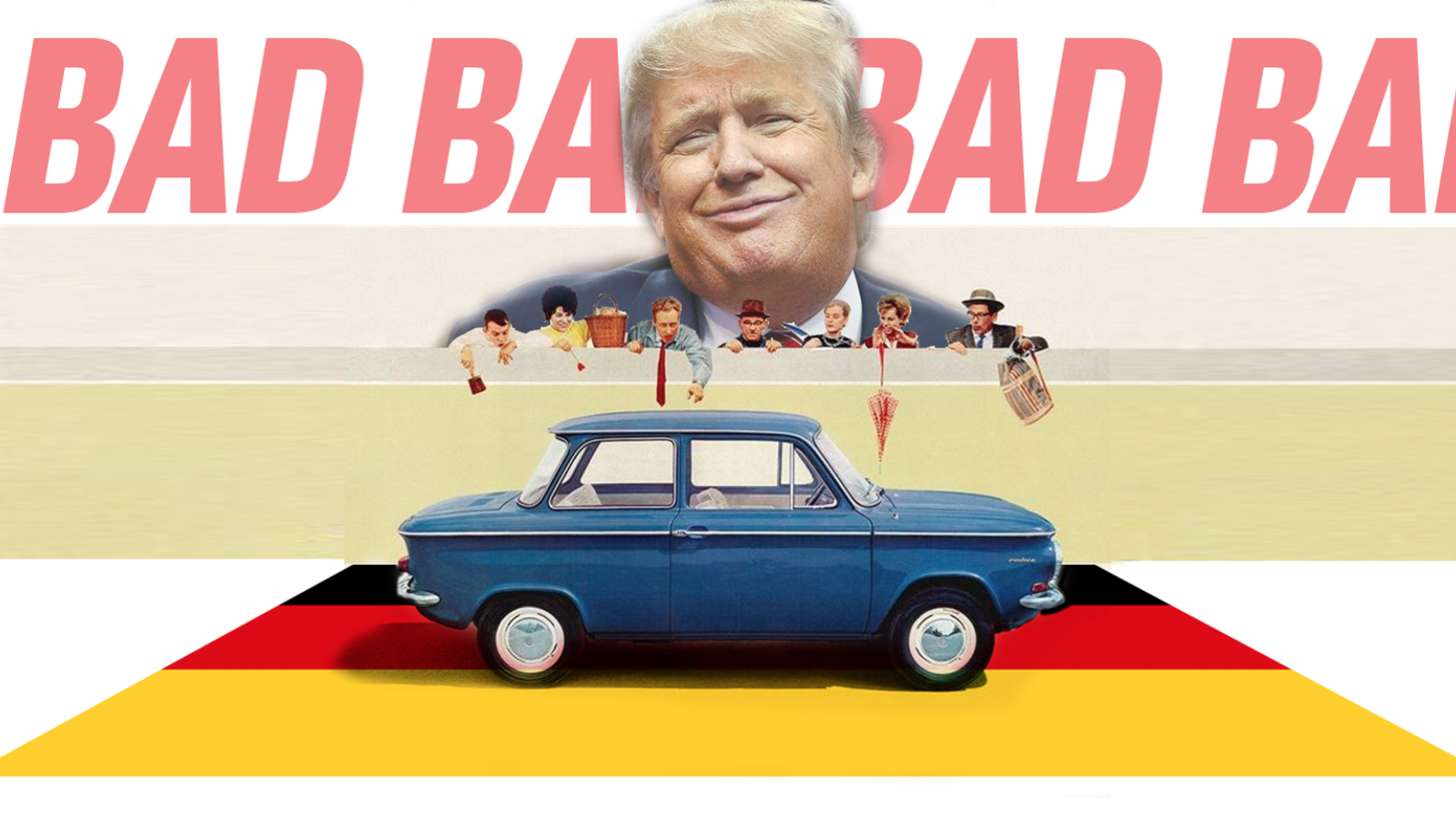 The \'Very Bad\' Germans Export A Ton Of American-Built Cars