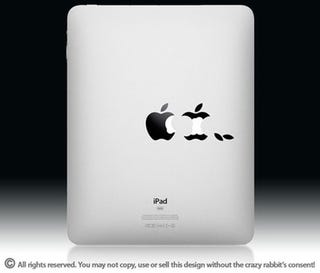 Illustration for article titled An iPad Decal For Apple's Core Audience